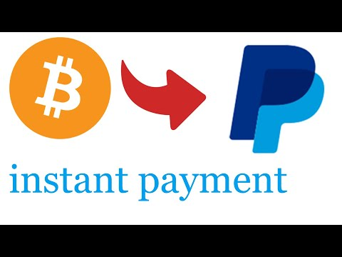 Bitcoin To Paypal