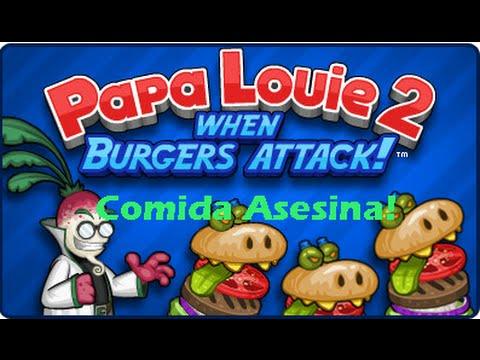 Comida Asesina Papa Louie 2 Juego Random Youtube