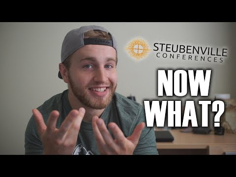 What to do AFTER a Steubenville Conference