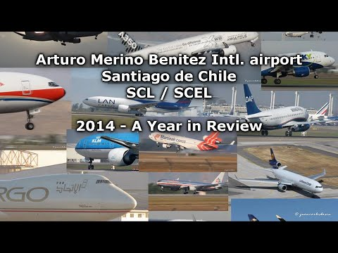 Aeropuerto de Santiago de Chile SCL/SCEL - 2014 A YEAR IN REVIEW