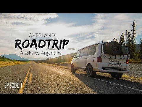 Roadtrip USA Overland- Alaska to Argentina in a VW T5  Episode 1-camperX