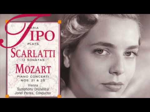 Maria Tipo 1956 Scarlatti LP on Vox