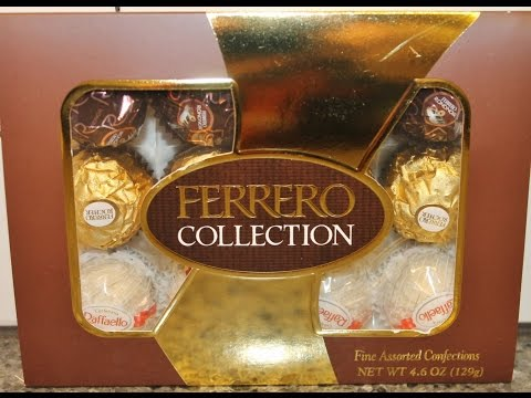 Ferrero Collection: Dark & Milk Chocolate With Hazelnut & Coconut With Almond Review