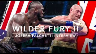 """I'm Partial to FURY!"" Q&A w/ 'Smokey Joe' of Safest Betting Sites! #FuryWilder2 #WilderFury"