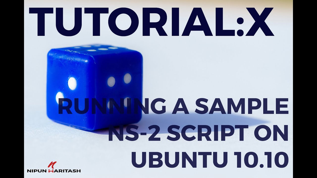 Example tcl script for ns2