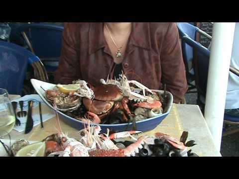 Gourmet dinner. Delicious Seafood. Le Croisic France - 1