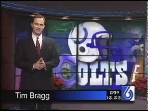 December 2000 - Colts & Coach Jim Mora Celebrate Playoff Berth