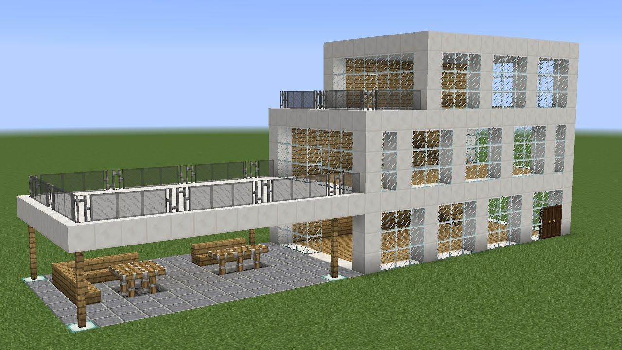 how to build a modern mansion