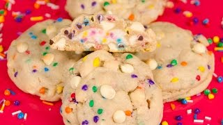 Frosting Filled Birthday Cookies: Chips Ahoy Copycat From Cookies Cupcakes And Cardio