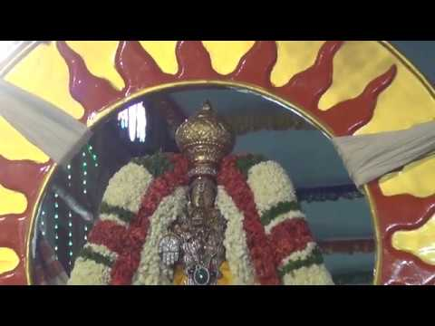 Sri Vedantha Desikar Devasthanam 2018 Surya Prabha