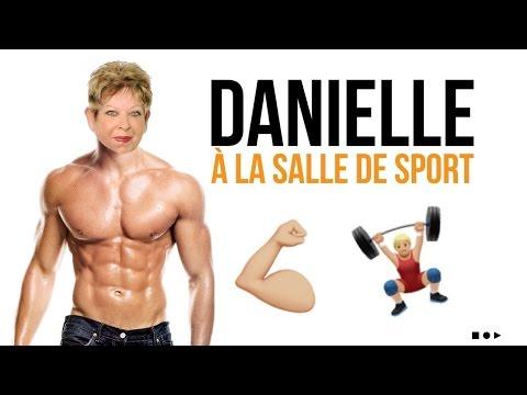 La première séance de sport de Danielle