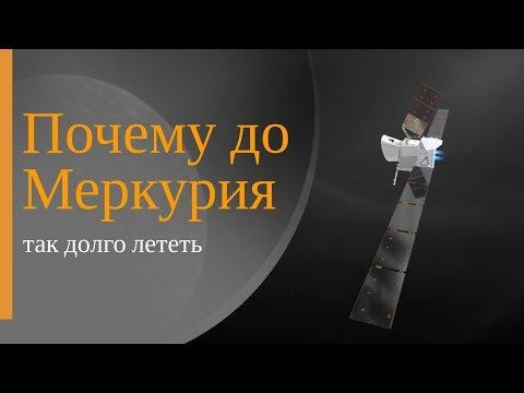 Почему до Меркурия так долго лететь