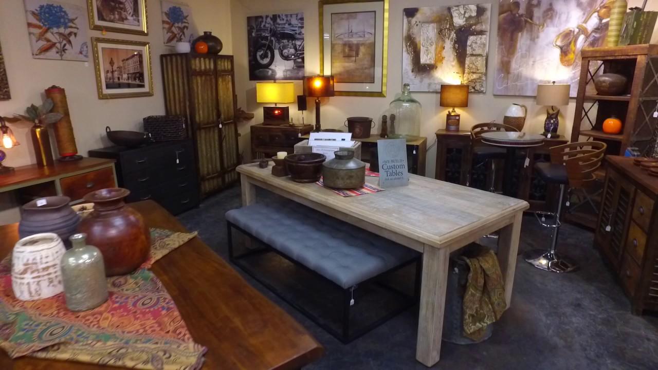 Denver furniture store rare finds warehouse b roll