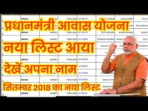 प्रधानमंत्री आवास योजना की नई लिस्ट या गई देखें अपना नाम |PMAYG new September list 2018 By IT Advice