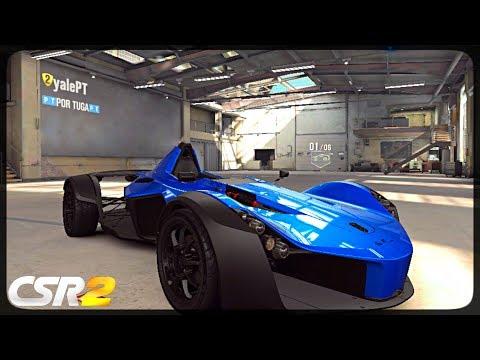 CSR Racing 2 - Bac Mono delivery  - Milestone prize