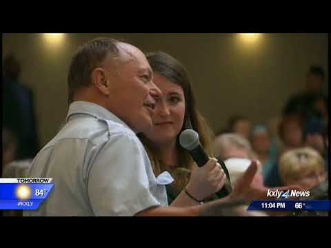 Senator Maria Cantwell holds town hall meeting