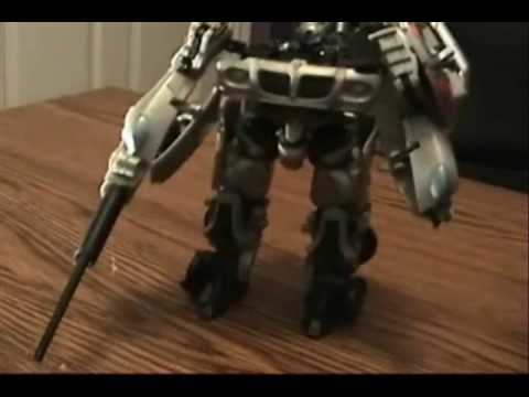 Transformers The Movie Jazz Toy Review