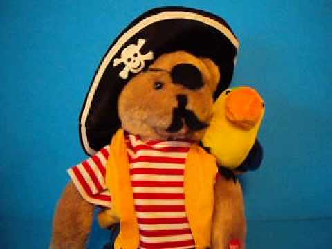 Hot Hot Hot Captain Salty and Pepper Singing Doll