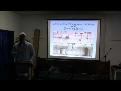 Dismanteling The Wailing Wall Brick By Brick  part 1