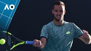 Lorenzi v Troicki match highlights (2R)   Australian Open 2017