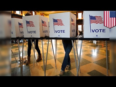 How To Vote: Machines You'll Likely Encounter Inside The U.S. Election Voting Booth - TomoNews