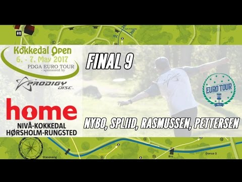 2017 Kokkedal Open pres by Prodigy Disc: Final 9 (Nybo, Spliid, Rasmussen, Pettersen)