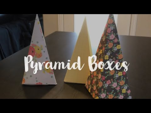 DIY Pyramid Boxes