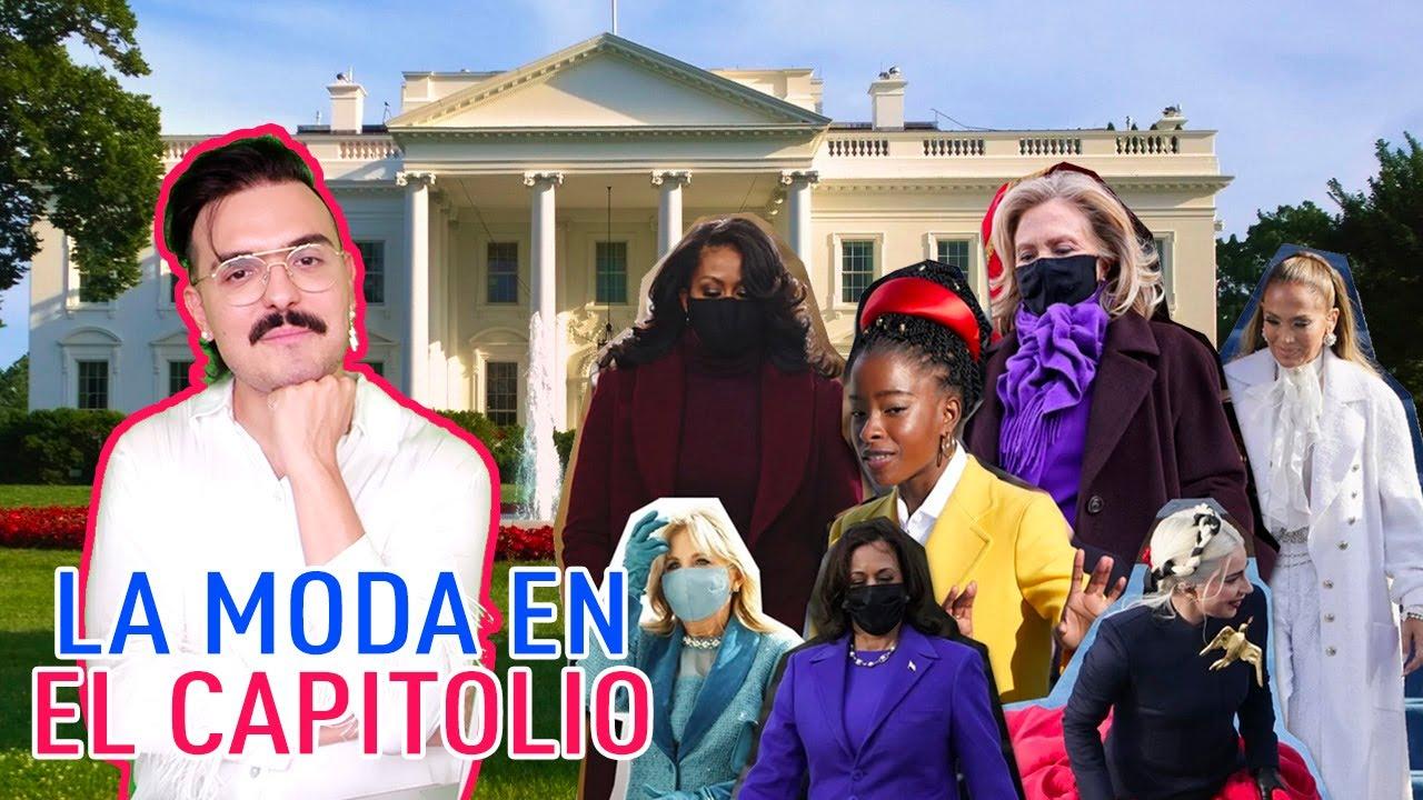 LA MODA EN EL CAPITOLIO: TOMA DE POSESIÓN DE JOE BIDEN PRESIDENTE | GERARD CORTEZ
