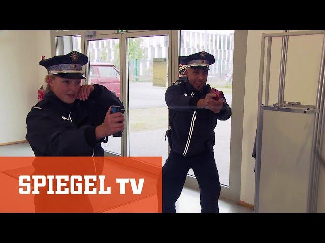 Die Abschlussprüfung: Neue Polizisten braucht das Land