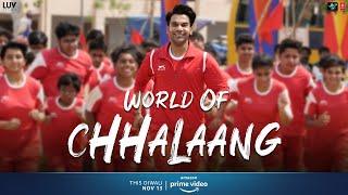 Making - World Of Chhalaang | Rajkummar R, Nushrratt B | Streaming Now on Amazon Prime Video