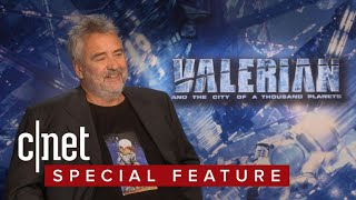 'Valerian' director Luc Besson can't wait to see an alien