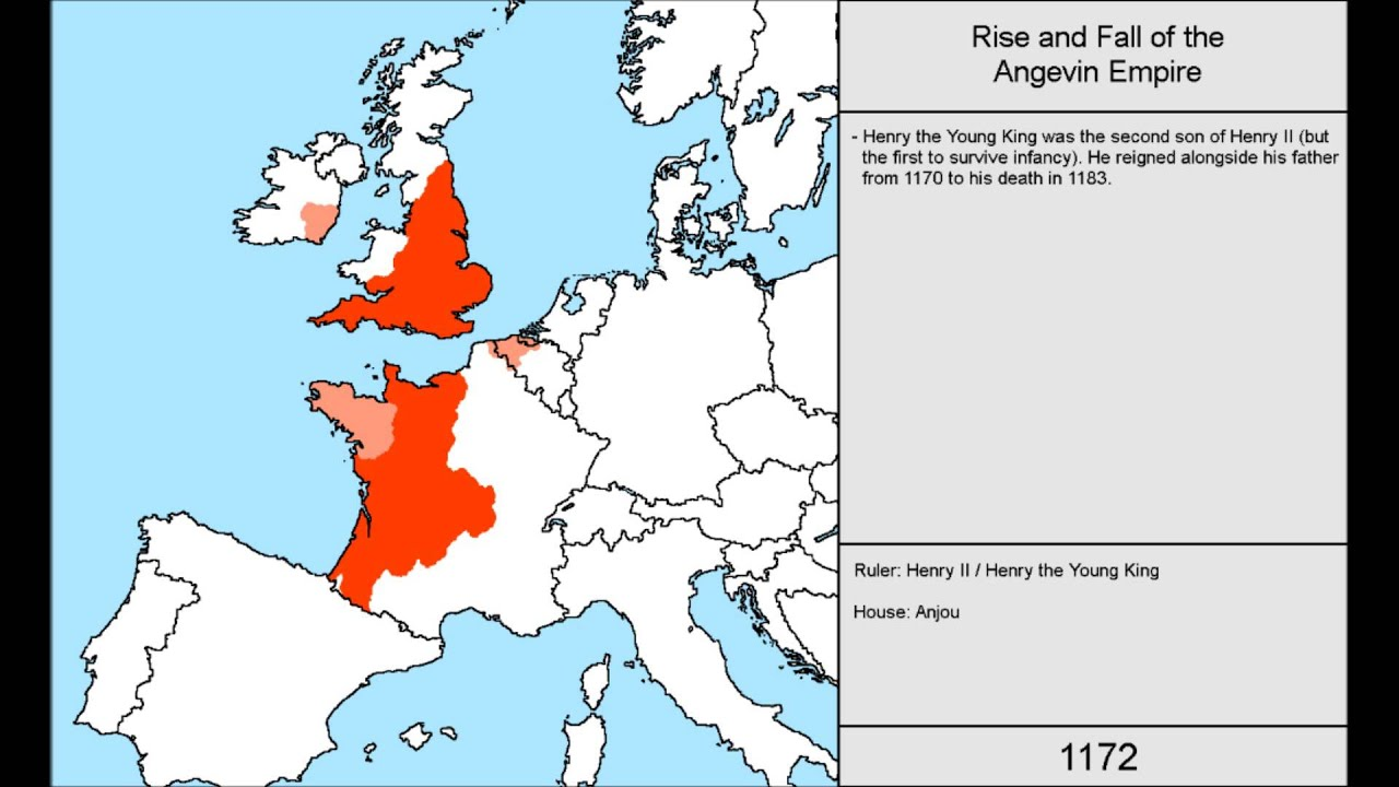 Rise And Fall Of The Angevin Empire
