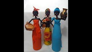 Gambar cover Corpo da Boneca Africana na Garrafa