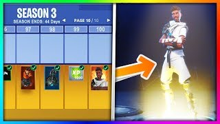 8 Things You Didn't Know About The Season 3 Battle Pass in Fortnite: Battle Royale