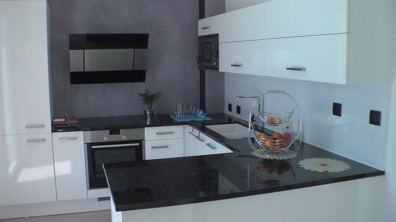 cuisine am nag e quip e design arranged kitchen design equipped youtube. Black Bedroom Furniture Sets. Home Design Ideas