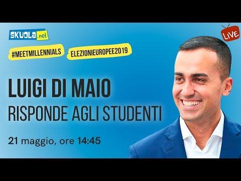 Luigi Di Maio (M5S) risponde agli studenti - #MeetMillennials #ElezioniEuropee