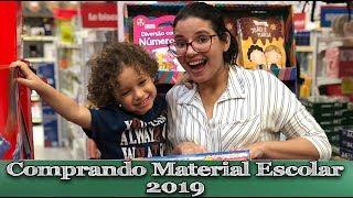 COMPRANDO MEU MATERIAL ESCOLAR 2019