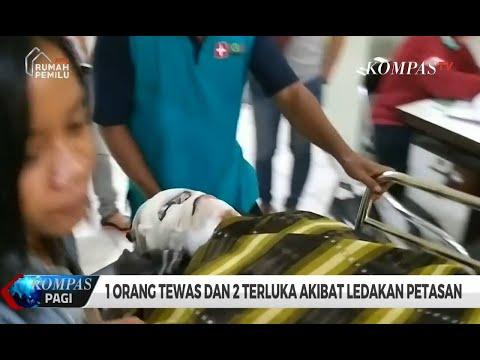 1 Orang Tewas dan 2 Terluka Akibat Ledakan Petasan
