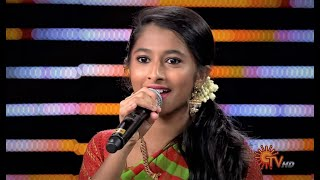 Anaga sings Chinna Machan Song in Western-style | Sun Singer - Best Moments| 12th Jan 2020 | Sun TV
