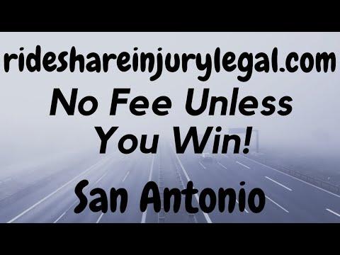 Uber Accident Attorney San Antonio - No Obligation - No Fee Unless You Get Paid - Видео онлайн