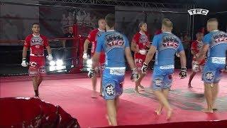 Swedish Muay Thai vs Latvian Pankration - 5 vs 5 MMA Team Fighting (TFC) Commentary