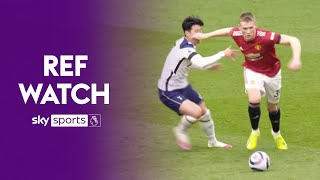 Ref Watch explains controversial McTominay/Son foul \u0026 why disallowing the goal was 'inevitable'