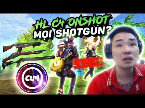 """Reaction : C4 Gaming """" One Shot Tất cả Mọi Loại Shotgun """" Bác Gấu Không Tin Được !"""