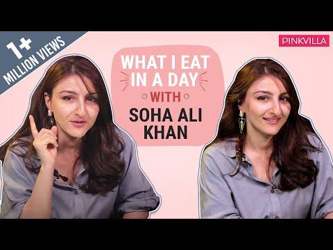 Soha Ali Khan - What I Eat in a Day | Mommy Edition | Fashion | Bollywood