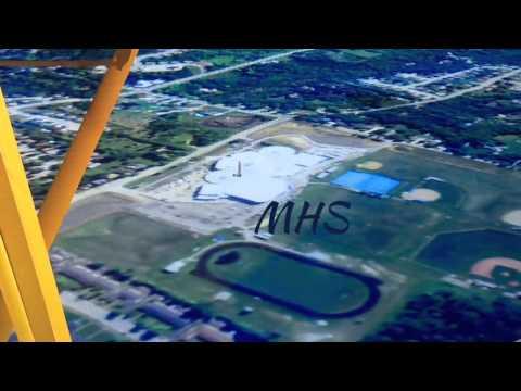 FSX Aerial Tour Of Miamisburg, Ohio.