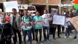 وقفة أمام السفارة الفلسطينية تضامنًا مع الانتفاضة الثالثة