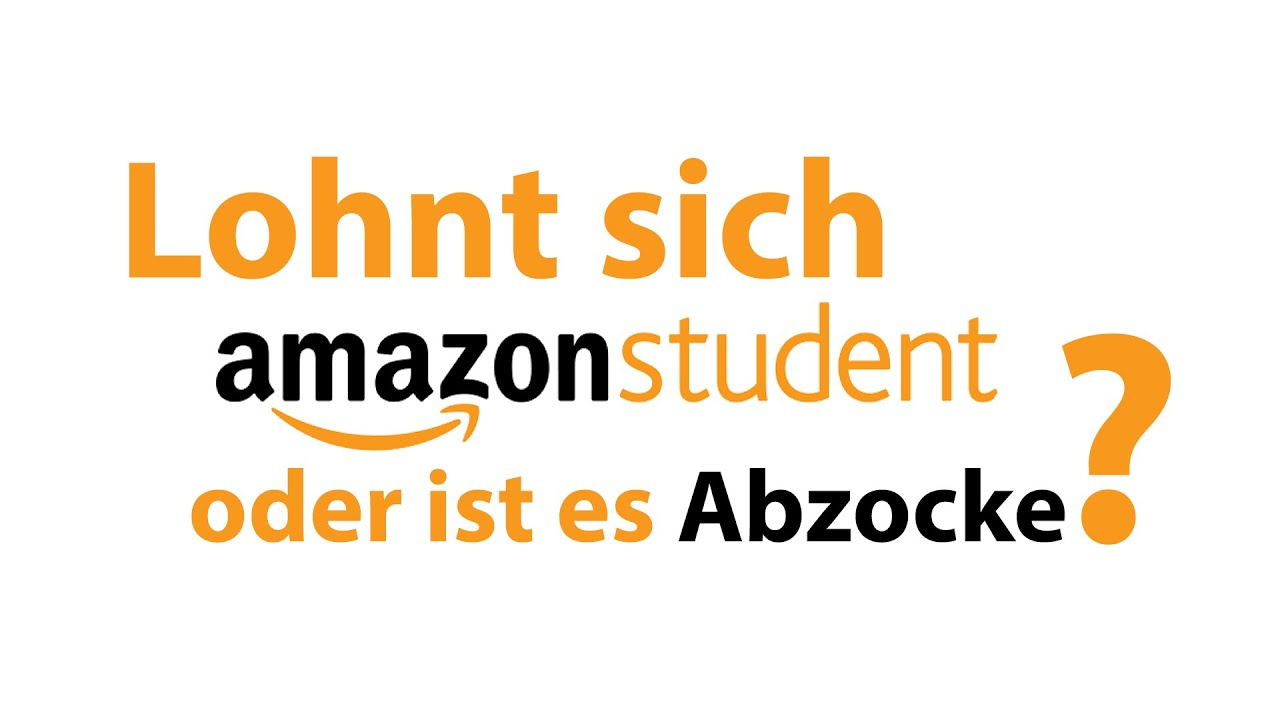 lohnt sich amazon prime student 2016 test mit link youtube. Black Bedroom Furniture Sets. Home Design Ideas