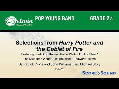 Selections from Harry Potter and the Goblet of Fire, arr Michael Story – Score & Sound