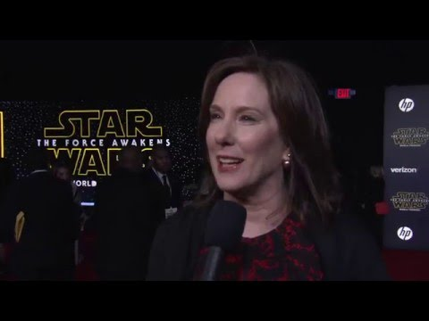Star Wars - The Force Awakens: Producer Kathleen Kennedy Red Carpet Interview