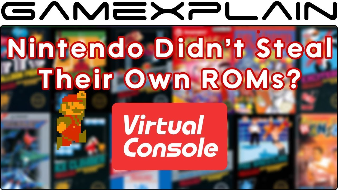 Does Nintendo Really Download and Resell Their Own ROMs? New Info Says No!